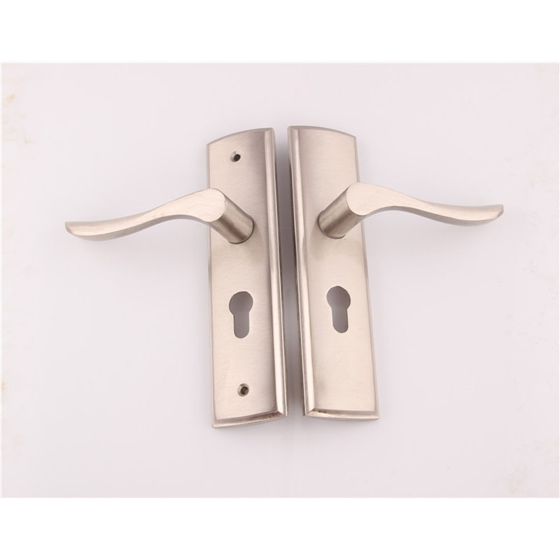 Fso new aluminum material interior door lock living room - Door handles with locks for bedrooms ...