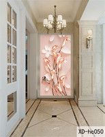 New 3D Orchid Flowers Wall Paper Home Decor Living Room Natural Art Wallpaper Mural Best Gift For Family Friend Fashion #1