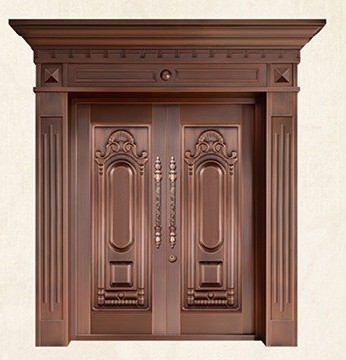 Bronze door security copper entry doors antique Copper Retro Door Double Gate Entry Doors H-c10 корпус atx cougar panzer max без бп чёрный