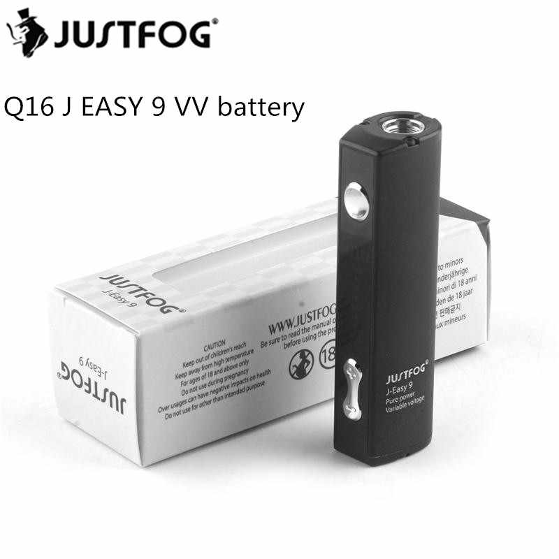 JUSTFOG Q16 Battery 900 mAh Box Mod Replaceable for JUSTFOG Q16 Kit J easy 9 vv battery Vape Pen Black,Pink,Silver Color