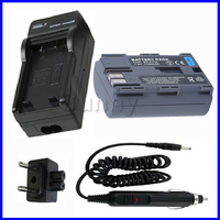 Battery and Charger for Canon BP 511A,BP 511 for PowerShot G1, G2, G3, G5, G6, Pro 1, Pro1, Pro 90 IS, Pro 90IS Digital Camera