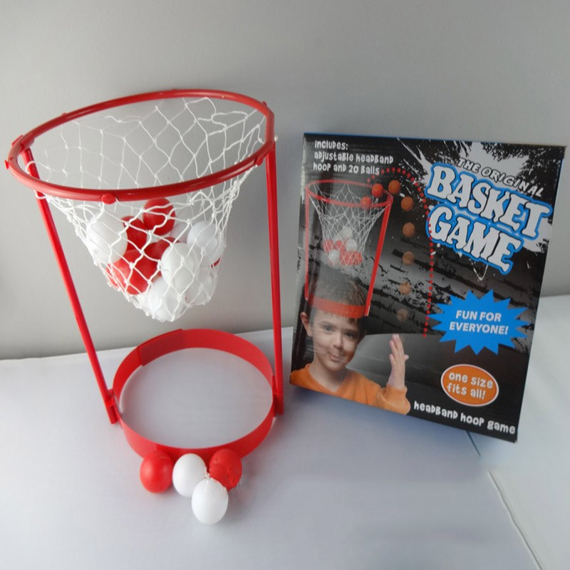 Kids Interactive Funny Toys Hat Children Head Basketball Hoop Game Circle  Shot Plastic Basket Parent-in Toy Balls from Toys   Hobbies on  Aliexpress.com ... 727c0378990