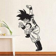 Dragon Ball Z Goku Boy Wall Decal Vinyl Decal Comics Anime Cartoons home decoration Art removable wall stickers