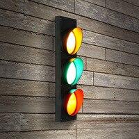 110 В 220 современный Nordic Industrial стиль черный светодиодный настенный светильник бра свет для спальня дома Лофт Гостиная Бар Крытый