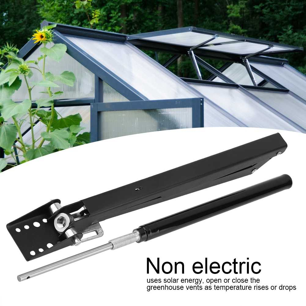 Automatic Greenhouse Window Opener Vent Opener Heat Sensetive Opener Kit Vent Autovent Solar Greenhouses Roof