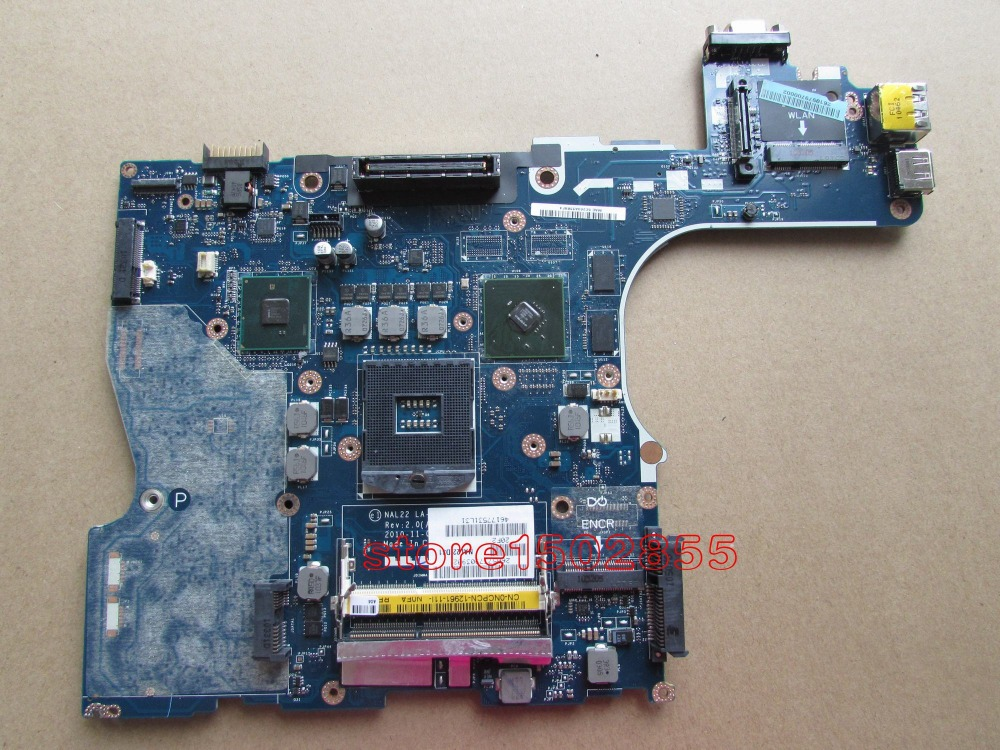 0NCPCN NCPCN For DELL E6510 Laptop motherboard LA-5573P 100% tested