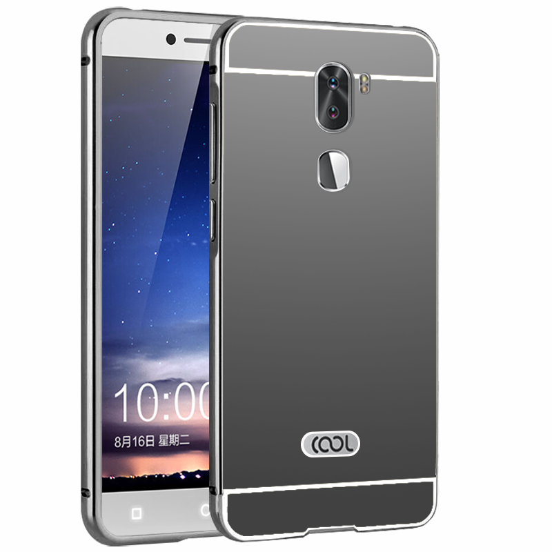 buy online 4572b 6afb1 US $3.35 16% OFF|Letv Cool 1 Dual Leeco Coolpad Cool1 case Metal frame +  back cover for Android 6.0 5.5