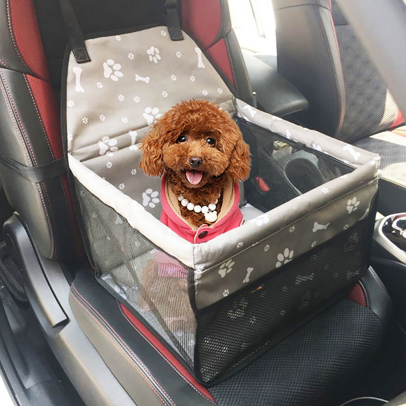 For SEAT ARONA Guard Adjustable Safety Travel Dog Pet Headrest car