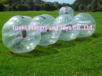 inflatable football game bumper ball body bounce ZORB ball for adult and kids