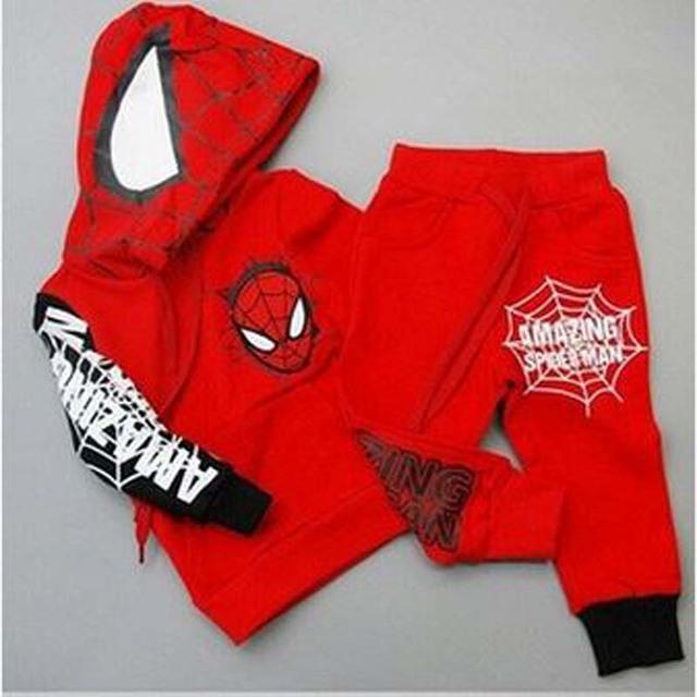 Spiderman Pullover Kids Set