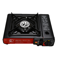 2900W Portable Camping Gas Butane Cooking Stove Wind Shield Outdoor Picnic BBQ Cooker Camping Stove Gas