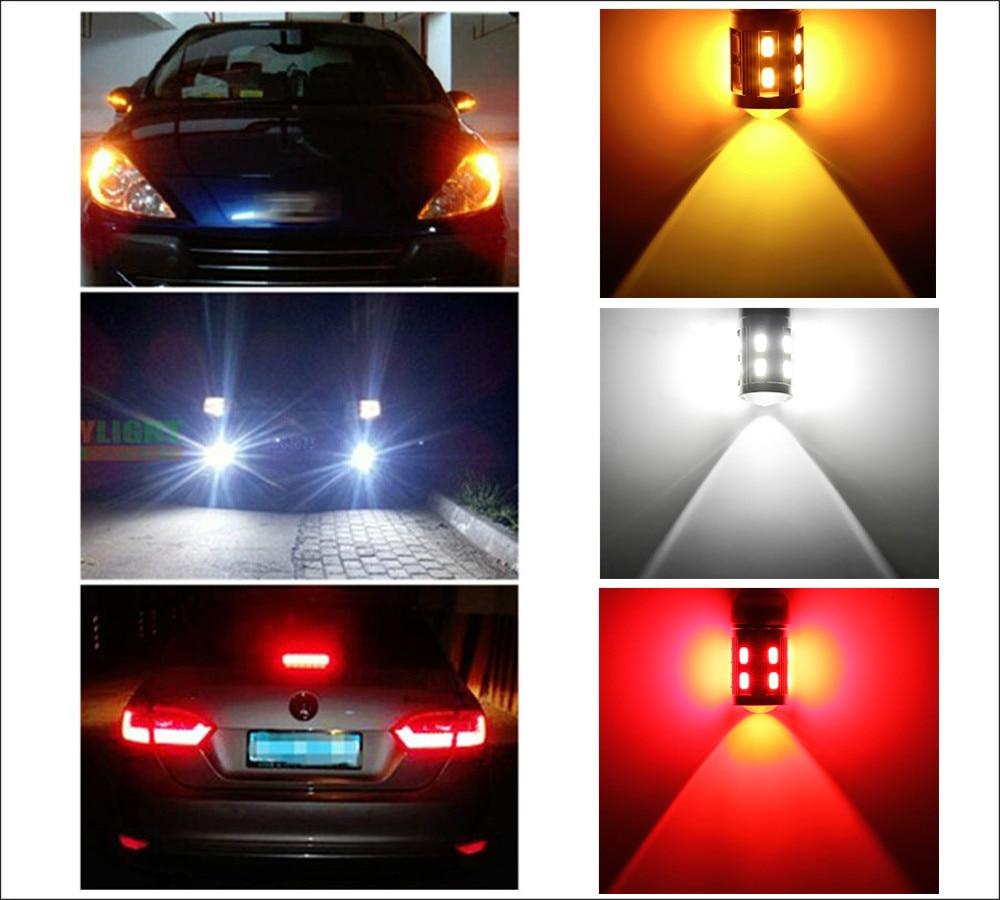 1156 BA15S Яркие 360-градусные светодиодные - Автомобильные фары - Фотография 6
