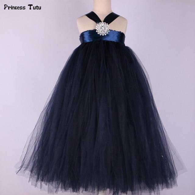 Cream whitenavy blue flower girl dress with diamond elegant cream whitenavy blue flower girl dress with diamond elegant children girls tutu dress princess mightylinksfo