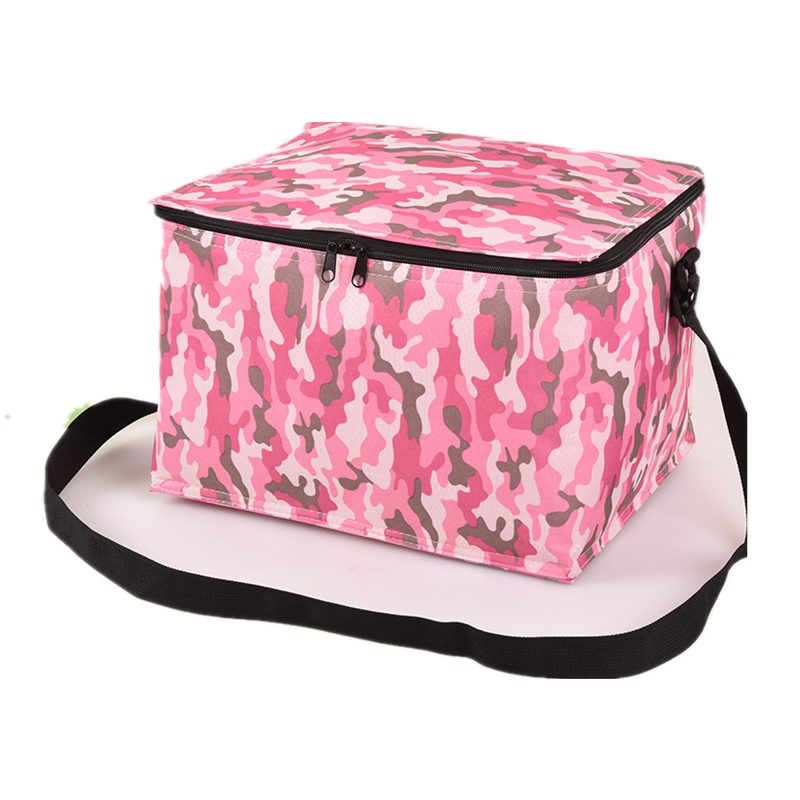 Big Capacity Oxford Insulated lunch bag thermal Women Flower Cooler Lunch Bags kids Student Food picnic bag