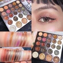 24 cores Matte Shimmer Eyeshadow Palette Maquiagem Nude Paleta de Sombra Brilho Pigmento Smoky Makeup Palette Maquiagem Sombra