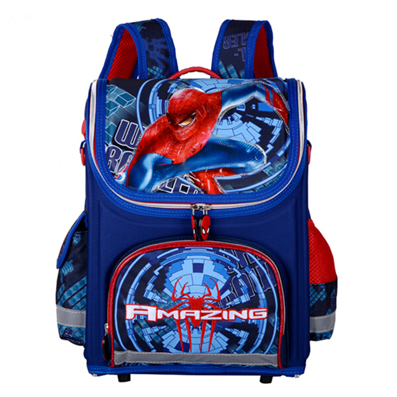 New Arrivel Backpack Spiderman School Bag Orthopedic Children School Bag Cars School Backpack Mochila Infantil For Girls Boys