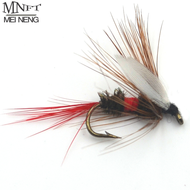 MNFT 6PCS 10# Royal Wulff Dry Flies for Trout Fishing Flies Coachman Fishing Fly Wholesale Fly Fishing Tackle
