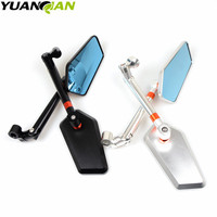 Aluminum   motorcycle   rearview mirror FOR YAMAHA FZ600 FZ1000 XJ6 XJR1200 XJR1300 V-MAX and   other   models/1 pairs free shipping