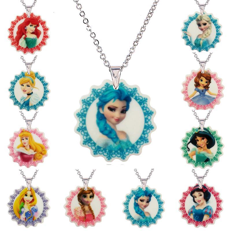 Aliexpress Com Buy 2016 Cartoon Princess Acrylic Pendant