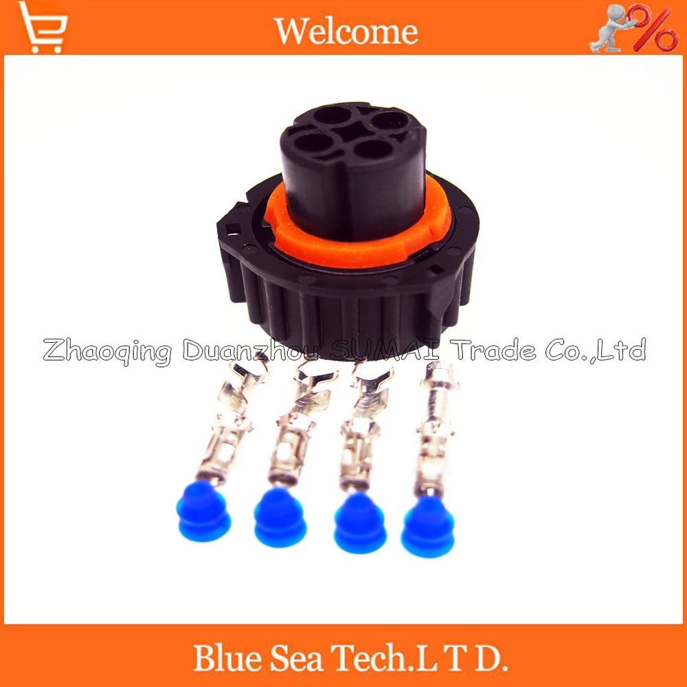 4 Pin 1-967325-3 auto female sensor plug for car,oil exploration,railway etc,waterproof IP67/69,temp resistance