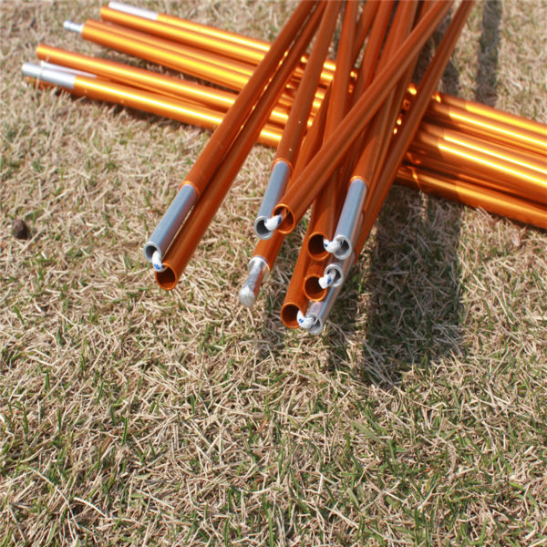 1pc Tent pole 8.5mm Aluminum alloy outdoor c&ing tent support poles skeleton spare replacement tent rod tent accessories-in Tent Accessories from Sports ... & 1pc Tent pole 8.5mm Aluminum alloy outdoor camping tent support ...