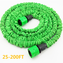 Magic garden hose flexible expandable Garden water hose reels for watering hose water hose 25FT 200FT [without sprayer]