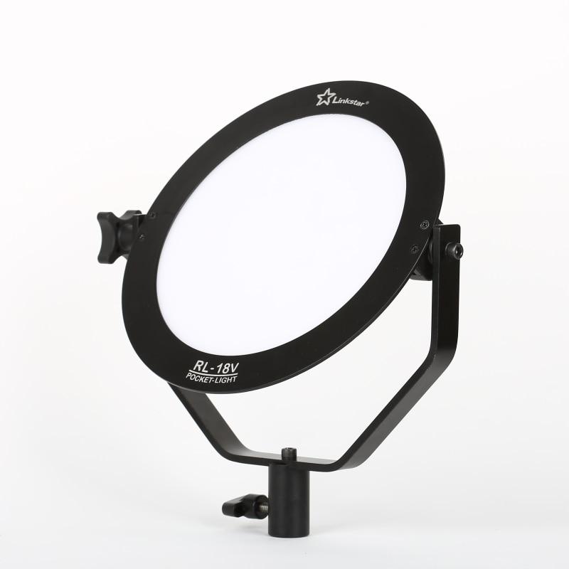 Linkstar 18W LED svetilka 5600K okrogla ultra tanka dnevna svetloba - Kamera in foto - Fotografija 3