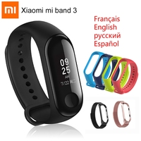 Original Xiaomi Mi Band 3 Smart Bracelet Miband 3 Wristband Sports Fitness Activity Tracker 0.78 OLED Touch Screen Band Mi3