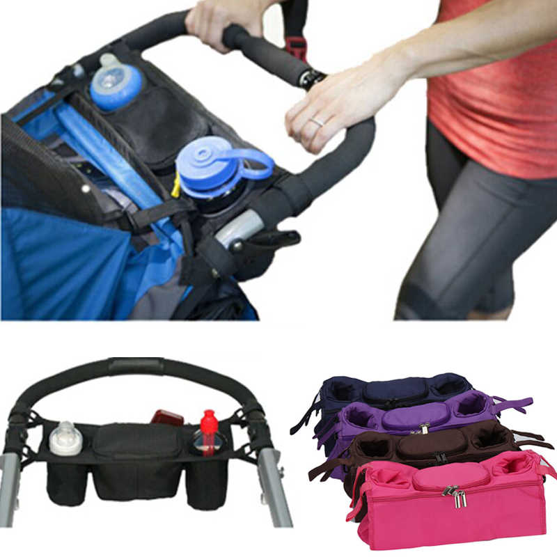 Baby Stroller Organizer Bags Universal Cup Bags Baby Carriage Pram Pushchair Cup Holder Stroller Accessories Bags 878088