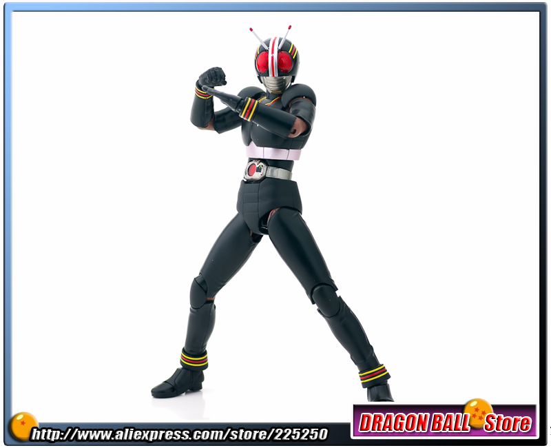 Japan Kamen Masked Rider Original BANDAI Tamashii Nations SHF/ S.H.Figuarts Toy Action Figure - BLACK Ver.2.0