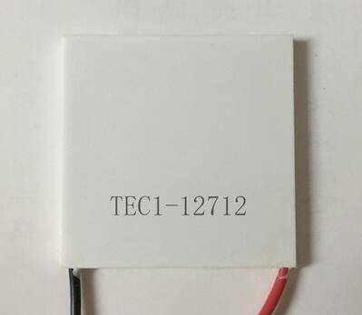 Free shipping 2pcs 100% New TEC1 12712 TEC 1 12712 109W 15.4V 12A TEC Thermoelectric Cooler Peltier (TEC1-12712) Connector