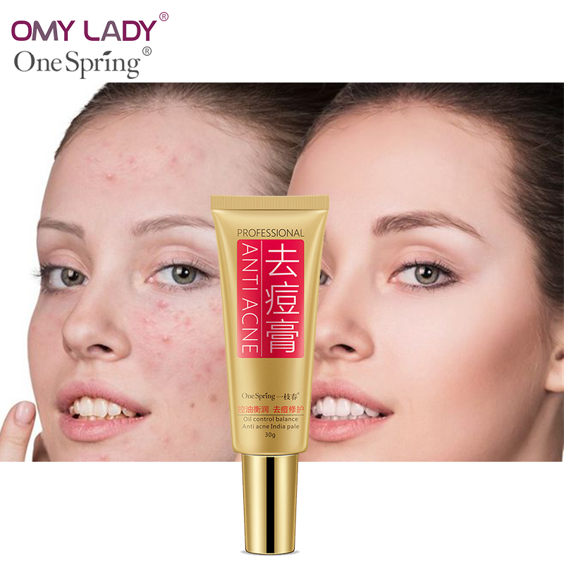 OMY LADY ONE SPRING Acne cream Acne printed Men&women containment Remove acne Acne treatment cream oil-control&balance skin care