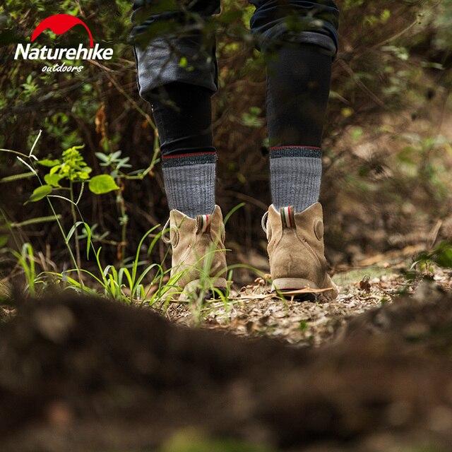 NatureHike Male wool socks Hiking 10