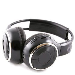 500m foldable wireless silent disco headphone OEM acceptable