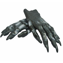 2017 Halloween Thriller party simulation Werewolf Wolf Paws Claws Gloves Cosplay Creepy Costume Party