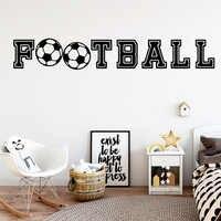 Drop Verschiffen Sport Fußball Wohnzimmer Dekoration Schlafzimmer Wandbild Kinderzimmer Decor Dekorative Vinyl adesivo de parede