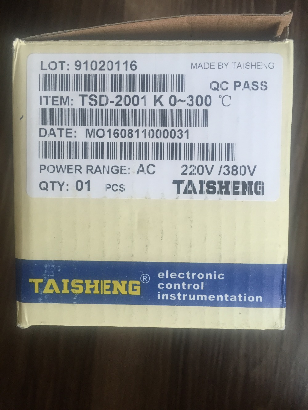 Genuine TAISHENG new South temperature control TEFD temperature control TSD 2001 temperature controller new original