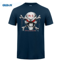 GILDAN Marke Vintage Retro Cool Rock Roll Punk Tops Tees Unterstützung 81 Großen Roten Maschine Höllen Mens Fashion Print Rundhalsausschnitt T-Shirts