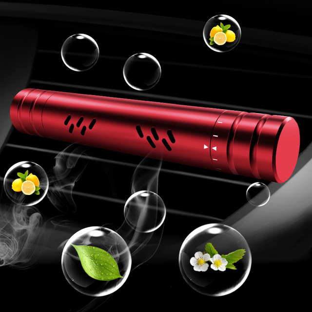 New Car Air Freshener Smell in Car Styling Air Vent Perfume Parfum Flavoring for Auto Interior Accessorie Air Freshener for Gift