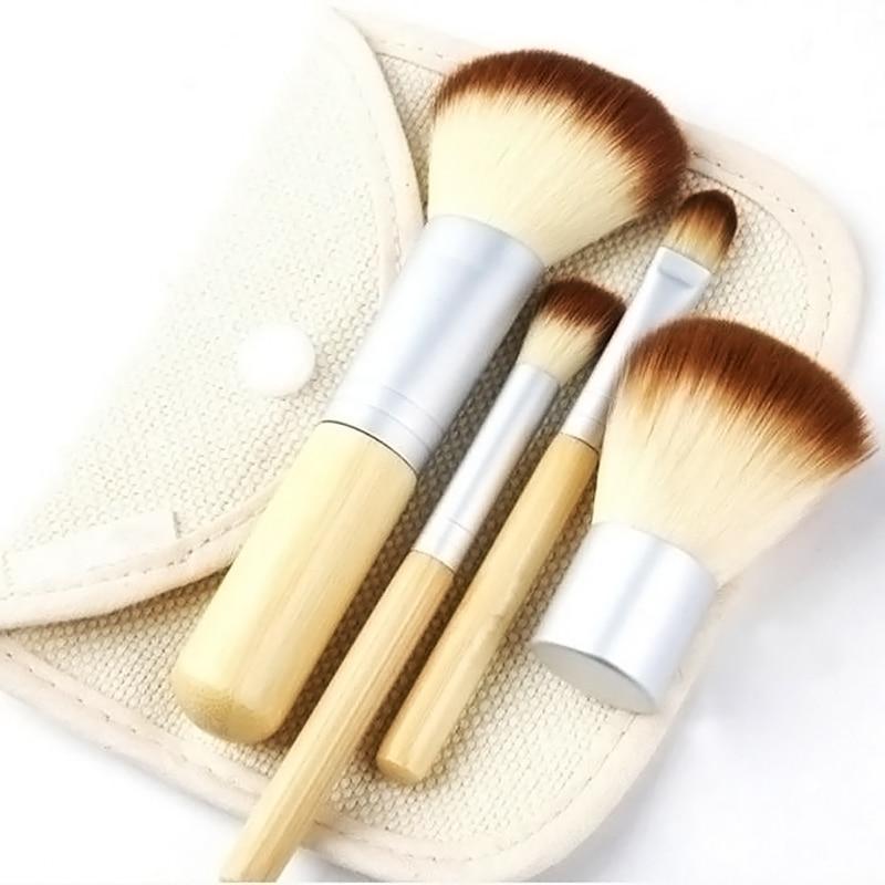 5pcs set Portable Make up Brushes Superior Professional Soft Cosmetic Brush Set Woman s Kabuki Brushes