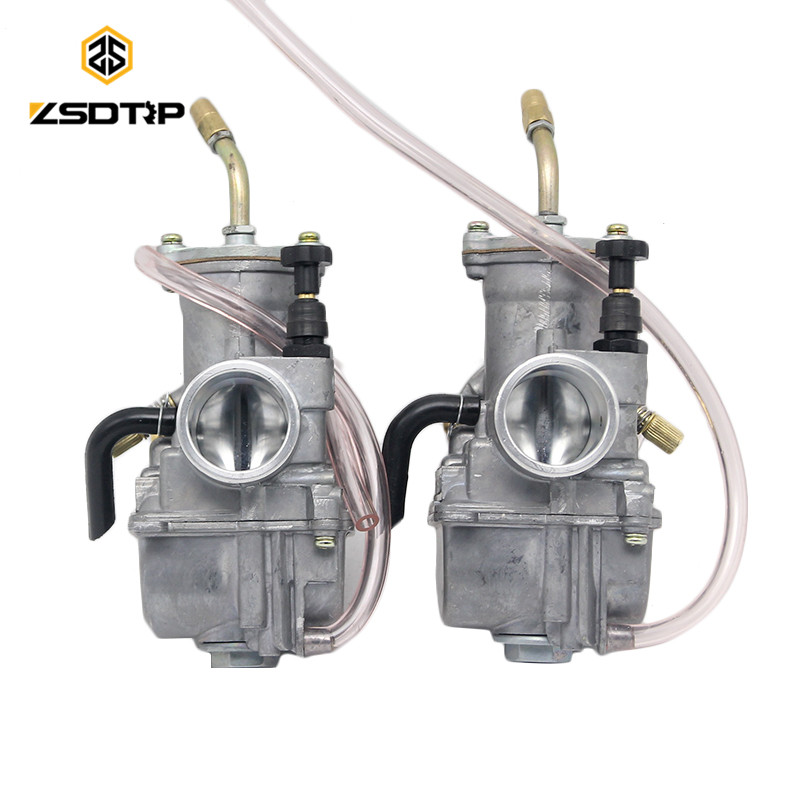ZSDTRP koso Motorcycle carburetor Carburador 28 mm with power jet left and right type universal at racing motor,ATV,off-road цена