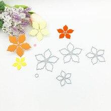Julyarts 4Pcs New 2019 Dies Metal Cutting Flower Stencils For Scrapbooking Embossing DIY Card Making Craft Die Cut Stitch