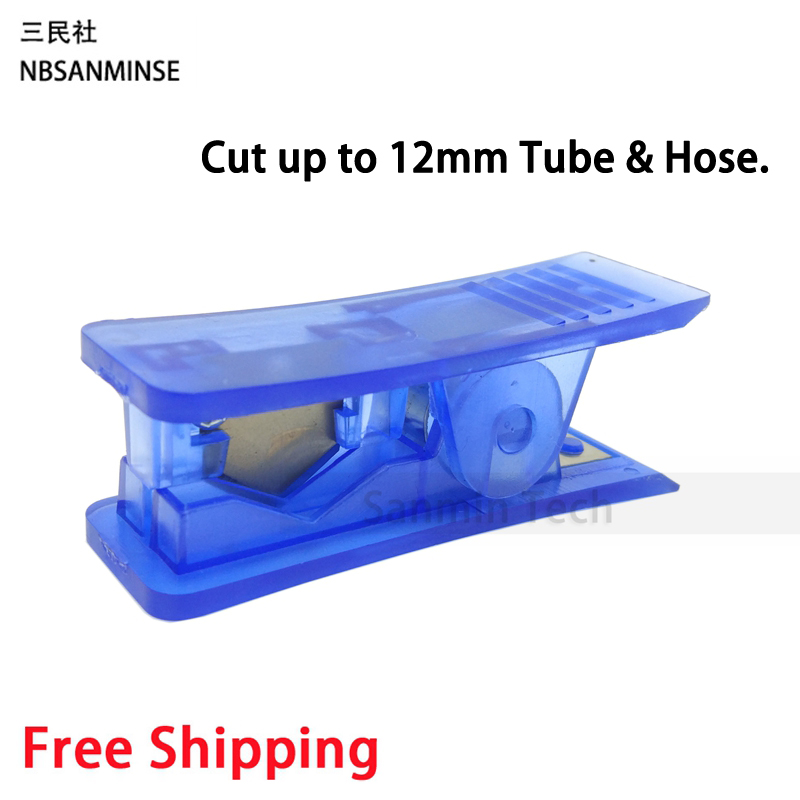 Rubber Silicone Water Air PVC PU Nylon Plastic Pipe Tube Tubing Hose Cutter Scissor Cut Tool Tube Cutter Sanmin water valve connector sucking pipe of filling machine water drawing hose pvc pipe steel spring inside food safe od 40mm 2m