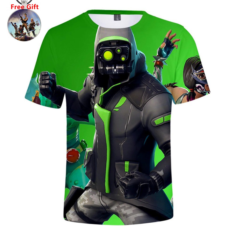 Season 8 Summer T Shirt Men Game Battle Royale Short Tee The Ace Cosplay Costumes For Kids Boy Girl Party Fashion T-shirt Women