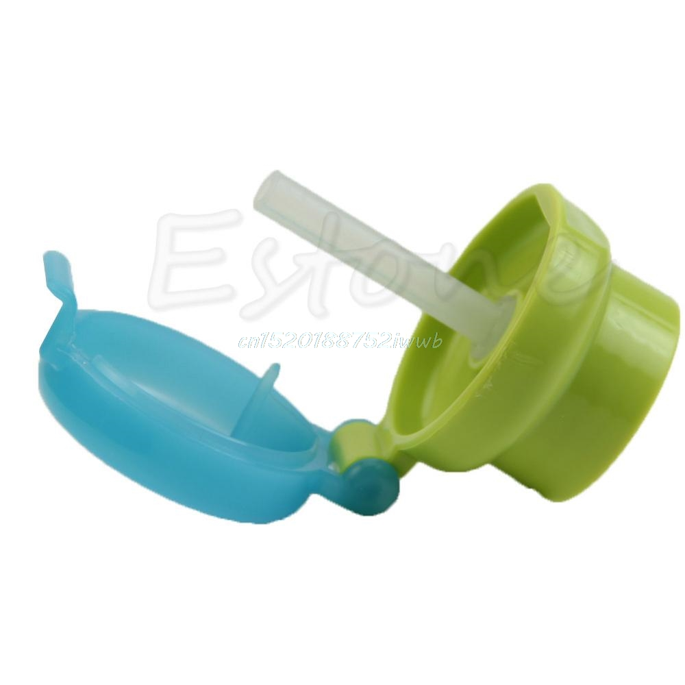 Baby Bottle Kids Cup PP Children Training Cups Cute Baby Drinking Water Straw Feeding Bottle Cover #T026#