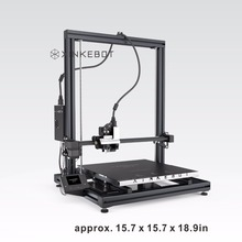 Автоматическое выравнивание 3D принтер xinkebot Orca2 cygnus металлический 2.8 «Сенсорный экран 400x400x500 построить объем DIY 3D комплект принтера