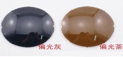 Супер тонкий 1.56 рецепт объектив асферические хк TCM уф смолы очков серый / коричневый линзами