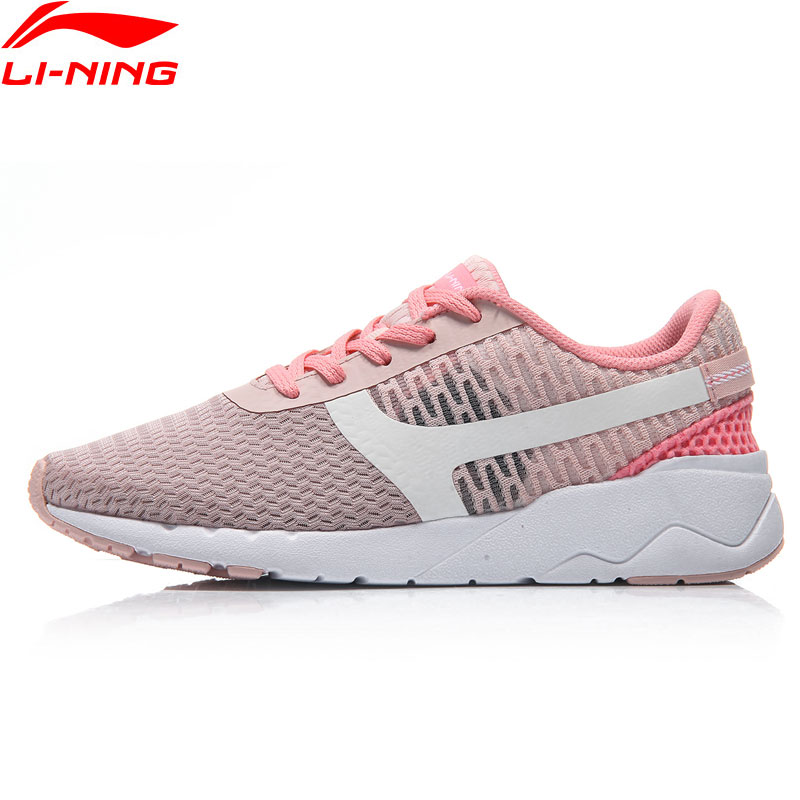 Li Ning Sports Life Women Heather Lifestyle Shoes Breathable Light Weight Sneakers Leisure LiNing Sport Shoes