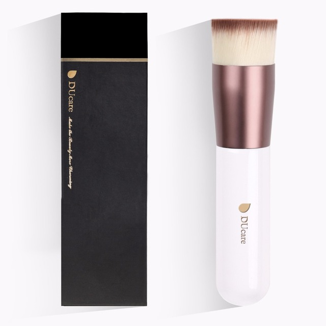 Pincel base DUcare pincel profesional de alta calidad líquido pinceles planos para maquillaje facial conjunto de herramientas belleza esencial
