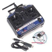 Original FlySky FS-CT6B FS CT6B 2,4G 6CH Radio Set System (TX FS-CT6B + RX FS-R6B) RC 6CH Sender + 6CH Empfänger